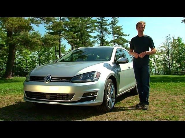 2015 Volkswagen Golf SportWagen -TestDriveNow.com Review by Auto Critic Steve Hammes | TestDriveNow