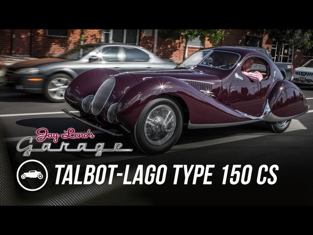 1937 Talbot-Lago Type 150 CS -Jay Leno's Garage