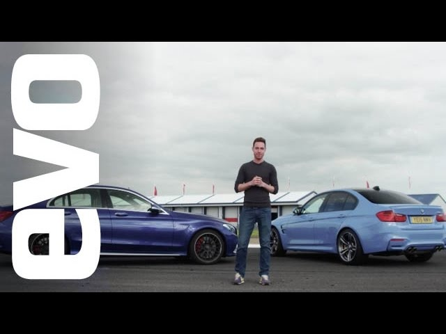 BMW M3 v <em>Mercedes</em>-Benz C63 S AMG | evo DEADLY RIVALS