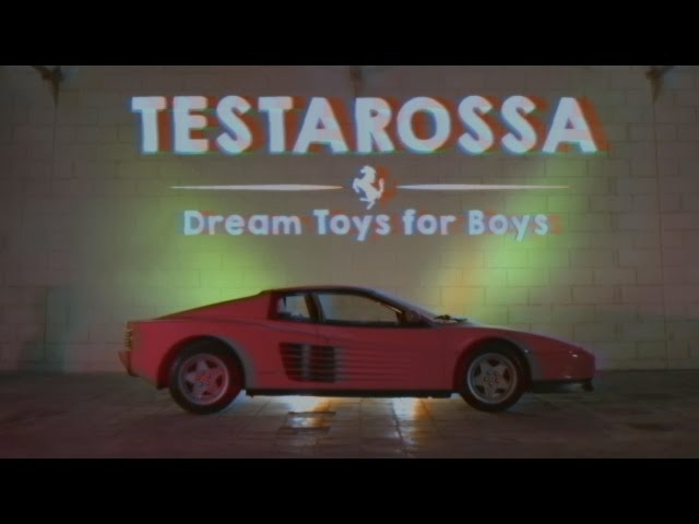 Dream Toys For Boys - Ferrari Testarossa
