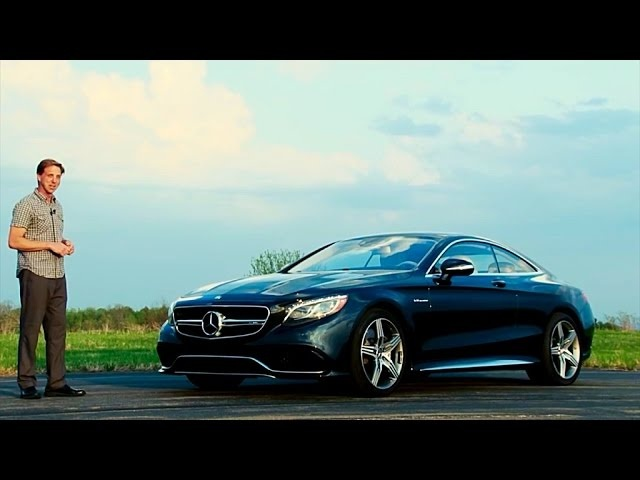 2015 <em>Mercedes</em>-Benz S63 AMG Coupe - TestDriveNow.com Review by Auto Critic Steve Hammes