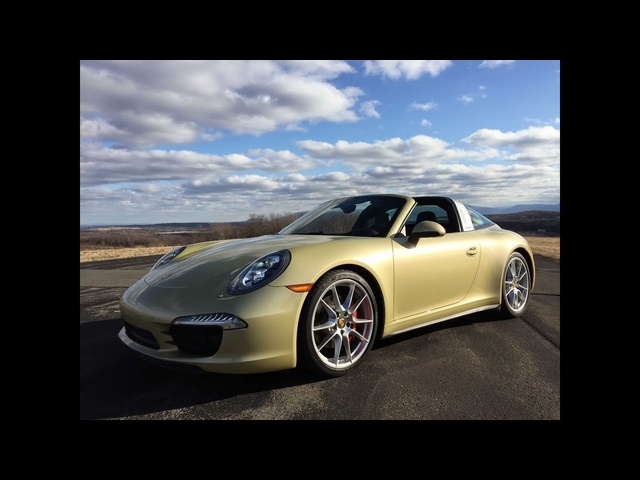 2015 Porsche 911 Targa 4S -TestDriveNow.com Review by Auto Critic Steve Hammes | TestDriveNow