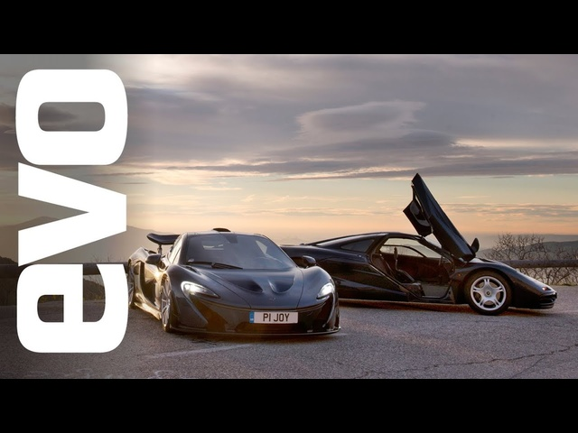 <em>McLaren</em> P1 vs <em>McLaren</em> F1 | evo REVIEW