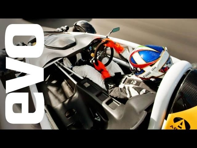 Ariel Atom 3.5R on board footage | evo TCOTY