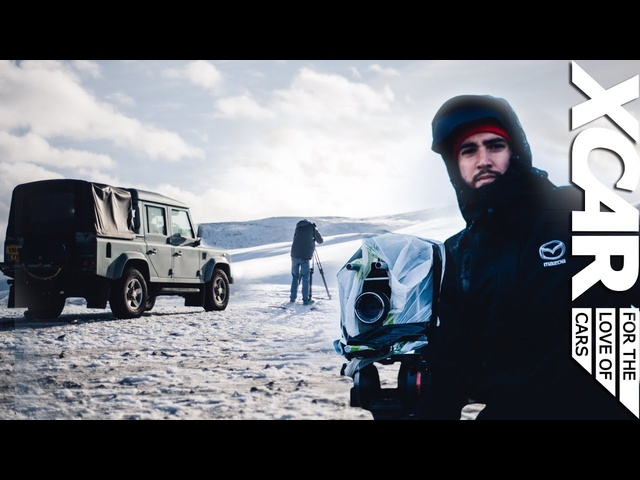 How XCAR Films Are Made, Aston Martin V12 Vantage: Defender Diaries - XCAR
