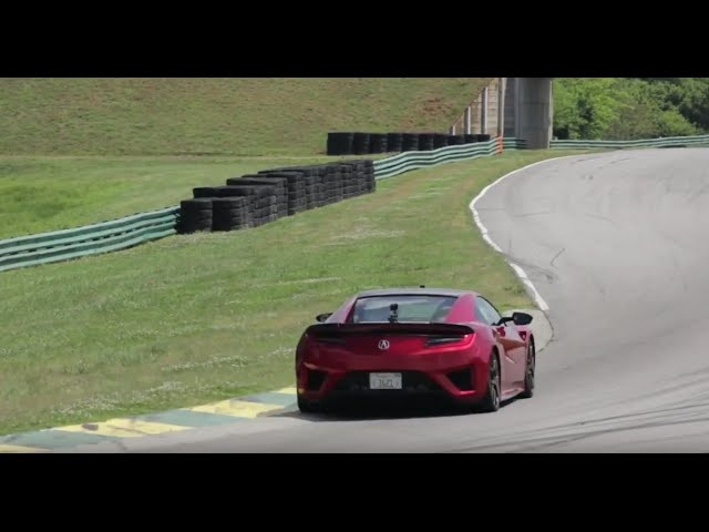 Acura NSX at Lightning Lap 2016