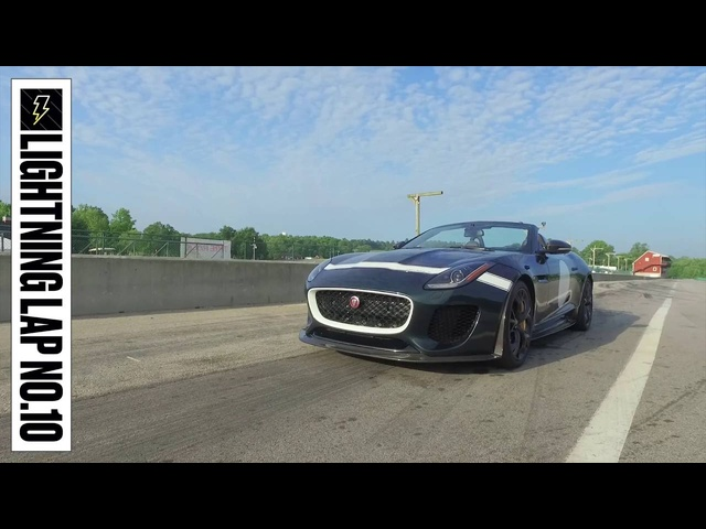 <em>Jaguar</em> F-type Project 7 at Lightning Lap 2016