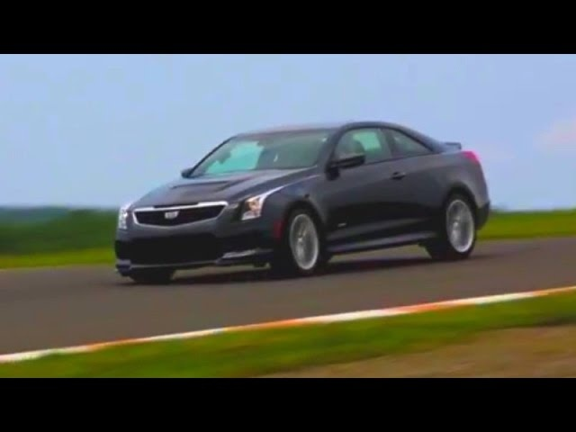 The <em>Cadillac</em> ATS-V On Track WIth The 'Zig -- AFTER/DRIVE