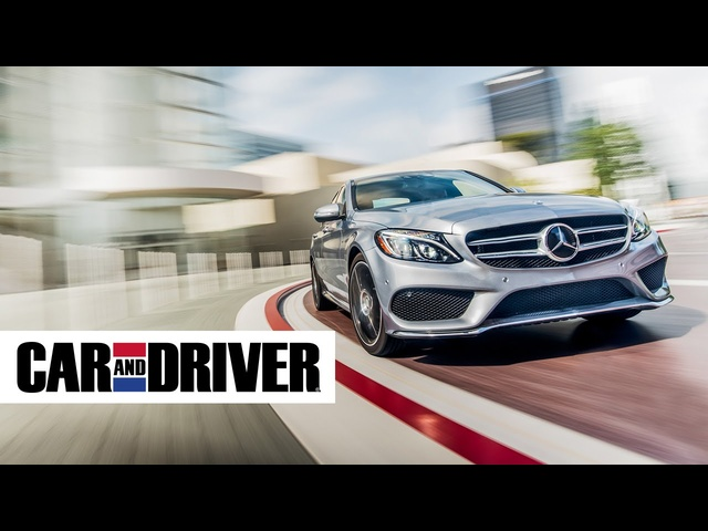 2015 <em>Mercedes</em> C400 4Matic Review in 60 Seconds | Car and Driver