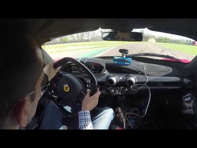 Lapping Fiorano in the <em>Ferrari</em> La<em>Ferrari</em> Hypercar