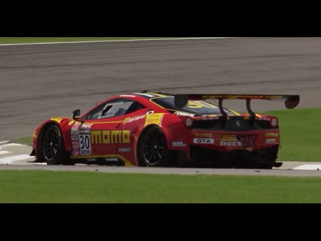 Attacking Barber with a <em>Ferrari</em> 458 GT3 - /MOMO