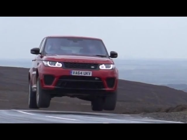 Thrashing the 2015 Range Rover SVR - /SUTCLIFFE on /DRIVE