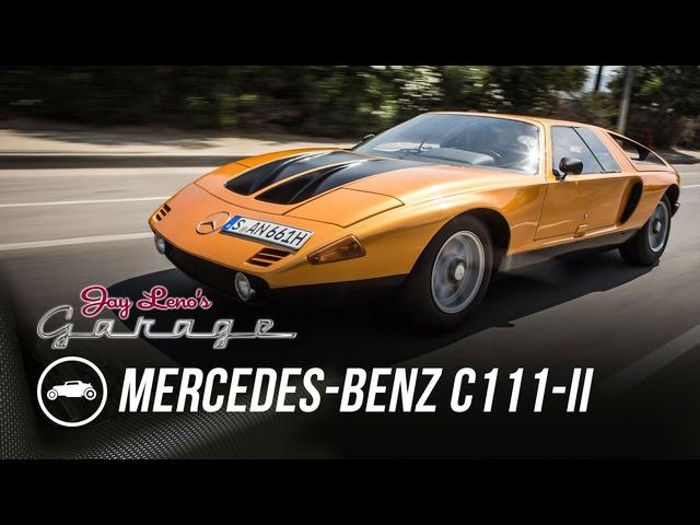1970 Mercedes-Benz C111-II -Jay Leno's Garage