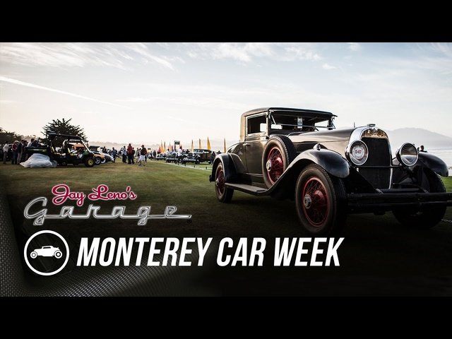 Monterey Car Week 2015: The Lawns -Jay Leno's Garage