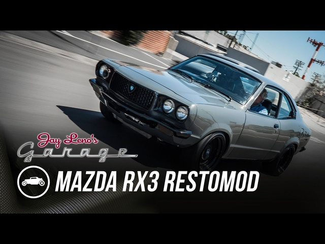 1973 <em>Mazda</em> RX3 Restomod -Jay Leno's Garage