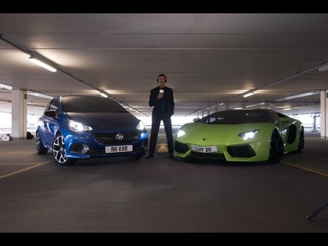 Corsa VXR v supercar - plus who are the mystery drivers?