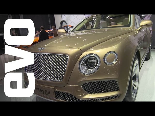 Bentley Bentayga at Frankfurt | evo MOTOR SHOWS