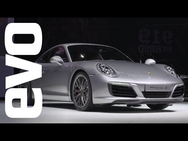 Porsche 911 Carrera S turbo at Frankfurt | evo MOTOR SHOWS