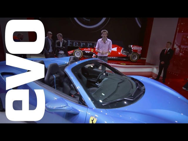 <em>Ferrari</em> 488 Spider at Frankfurt 2015 | evo MOTOR SHOWS