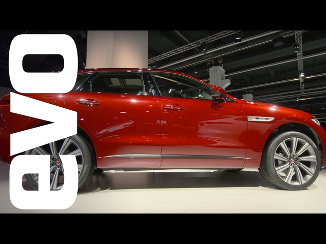 Jaguar F-Pace at Frankfurt 2015 | evo MOTOR SHOWS