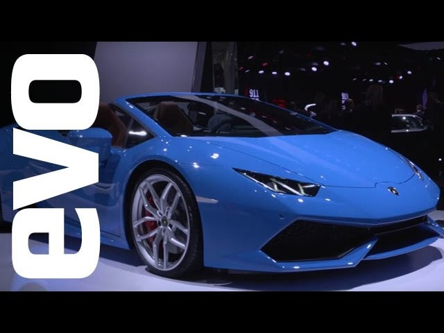 Lamborghini Huracán Spyder and Aventador Roadster at Frankfurt | evo MOTOR SHOWS