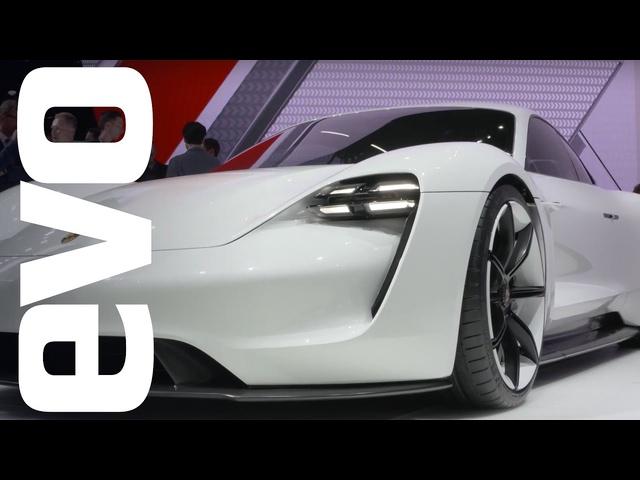 <em>Porsche</em> Mission E concept -Frankfurt 2015 | evo MOTOR SHOWS