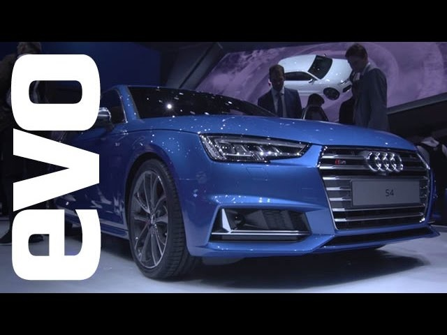 Audi S4 at Frankfurt | evo MOTOR SHOWS