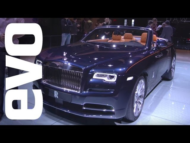 Rolls-Royce Dawn at Frankfurt | evo MOTOR SHOWS