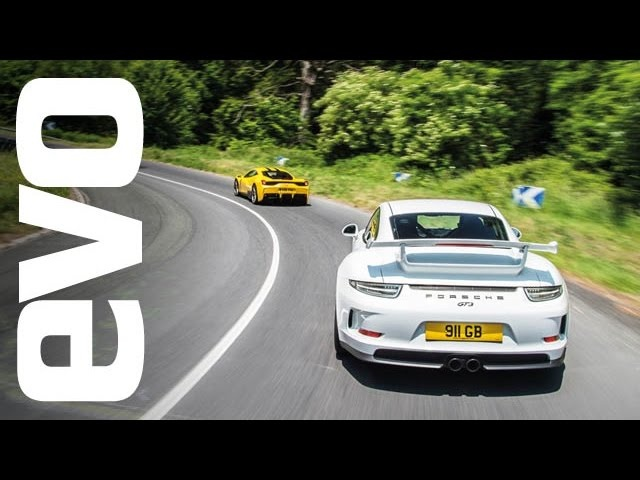 Le Mans road trip in a <em>Ferrari</em> 458 Speciale and Porsche 911 GT3 | evo GREAT DRIVES