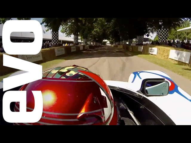 Porsche LMP1-98 Goodwood onboard | INSIDE evo