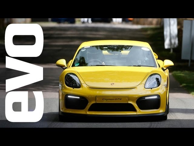 Porsche Cayman GT4 Goodwood onboard | evo DIARIES