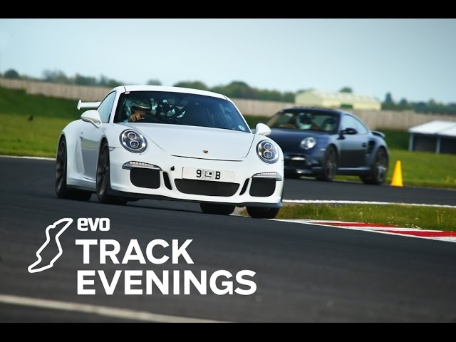 evo Track Evening in association with Sky Insurance - 991 Porsche 911 GT3