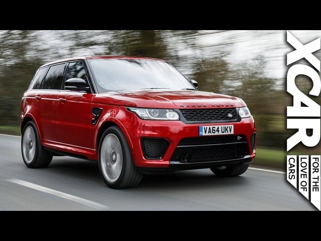 Range <em>Rover</em> Sport SVR : Spec Ops Performance - XCAR