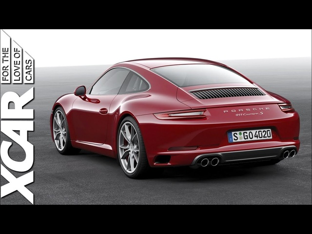 New 2016 Porsche 911: Facelifted 991, First Look And Engine Noise -XCAR