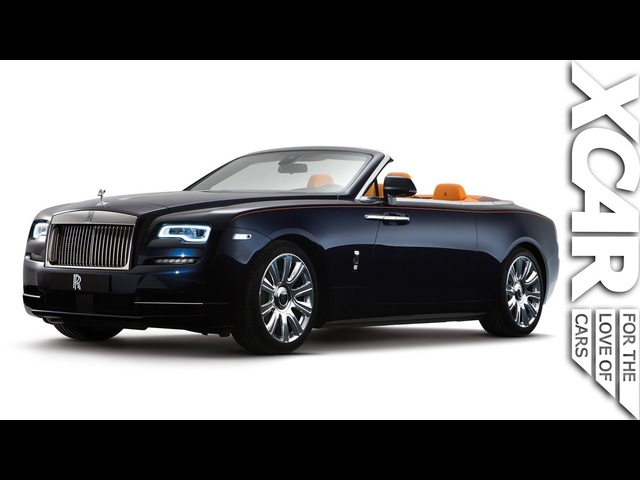 Rolls-Royce Dawn: Stealth Luxury - XCAR