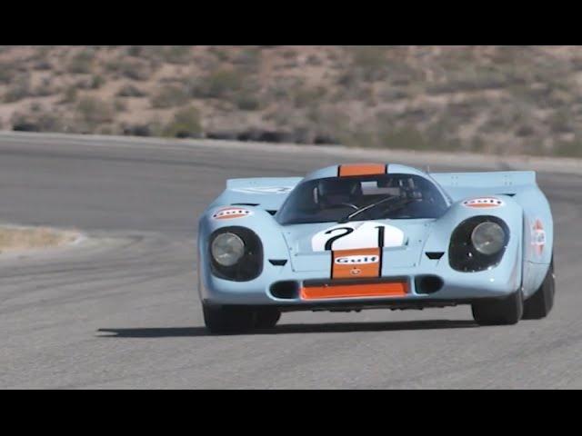 Flat Out in a<em>Porsche</em> 917 -Shakedown for Rennsport Reunion V