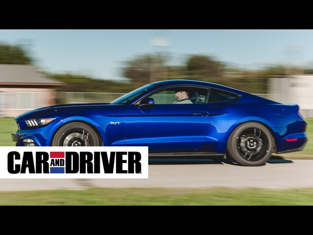 2015 Ford Mustang Ecoboost Review in 60 Seconds | Car and Driver