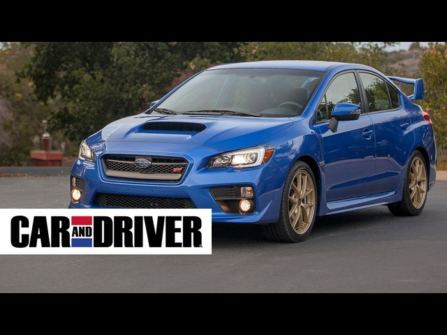 2015 Subaru WRX STI Review in 60 Seconds | Car and Driver