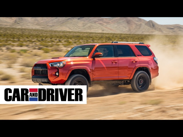 2016 Toyota 4Runner TRD Pro Review in 60 Seconds | Car and Driver