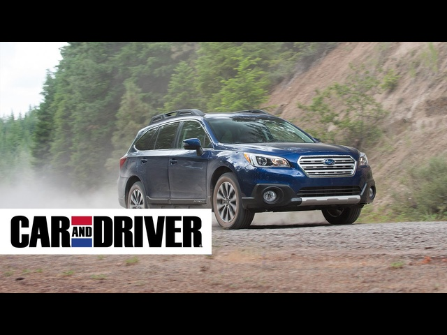 2015 Subaru Outback Review in 60 Seconds | Car and Driver