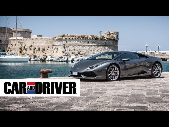 2015 Lamborghini Huracan Review in 60 Seconds | Car and Driver