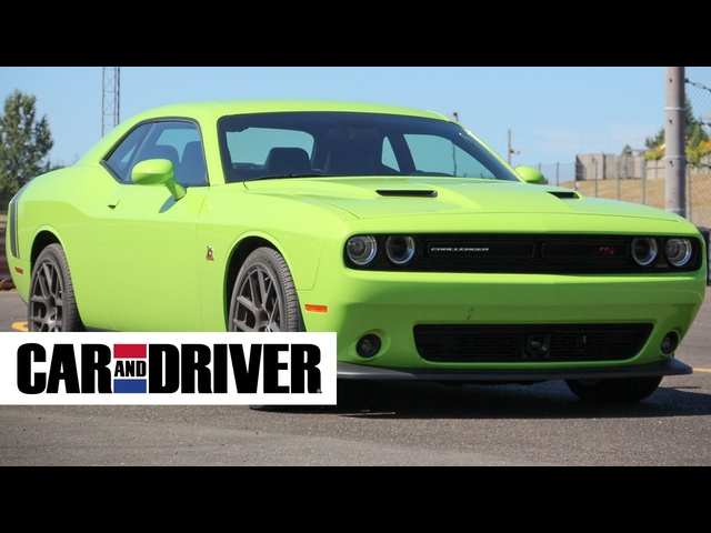 2015 <em>Dodge</em> Challenger Scat Pack and SRT 392 Review in 60 Seconds | Car and Driver