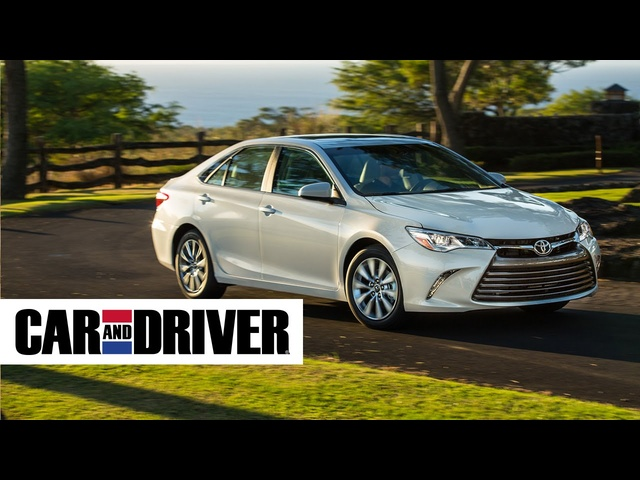 2015 Toyota Camry XLE Review in 60 Seconds | Car and Driver