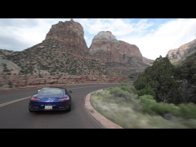 Utah's High Desert with <em>Mercedes</em> AMG GT in the Rain - Legendary Roads
