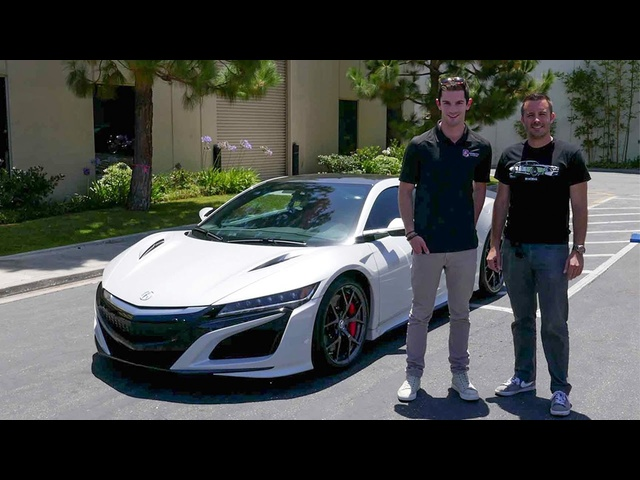 Quick Drive: 2017 Acura NSX (w/ Alexander Rossi) – Daily Fix