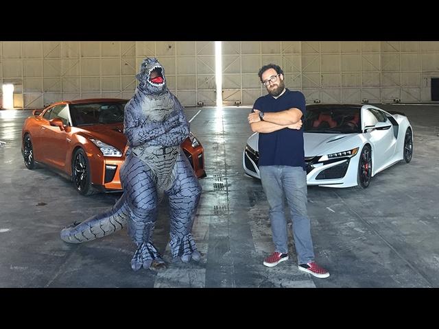 2017 <em>Acura</em> NSX vs. 2017 Nissan GT-R -Head 2 Head Ep. 81