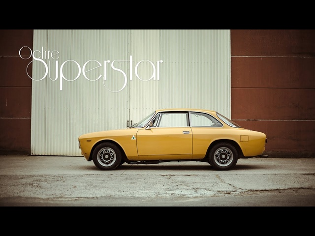 This 1968 Alfa Romeo 1300 Junior Is An Ochre Superstar - CLOSED CAPTIONED