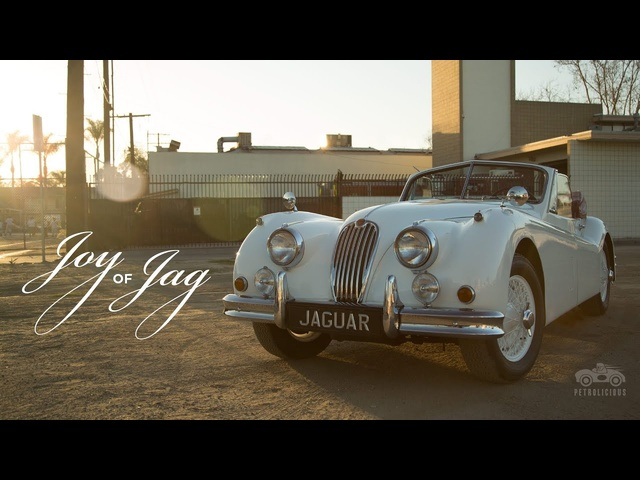 The Joy of the <em>Jaguar</em> XK140 Comes in Driving It