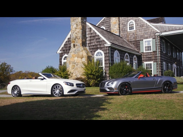 2017 <em>Mercedes</em>-AMG S65 vs. 2017 Bentley Continental GT Black Edition — Head 2 Head Ep. 84