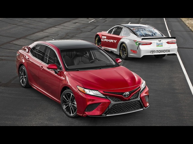 Intersection: Racetrack Meets Main Street in the All-New Toyota Camry! - Motor Trend Presents